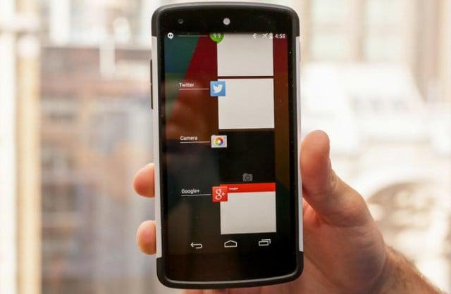 cierre inesperado de aplicaciones android