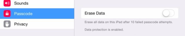 cifrado de datos en ios