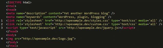 codigo de una pagina web sencilla