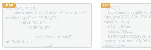 codigos copiados de sitio web