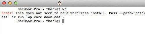 comando verificacion wp cli