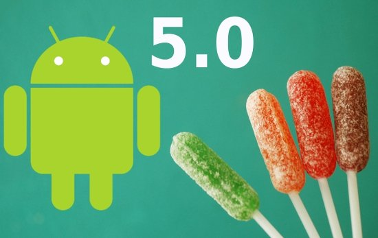 conseguir android 5 lollipop