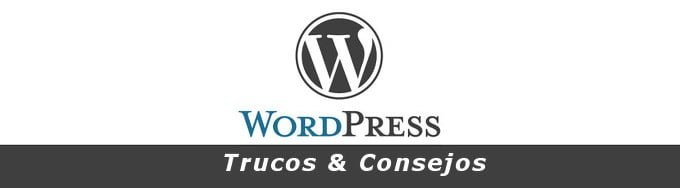 Truco En WordPress