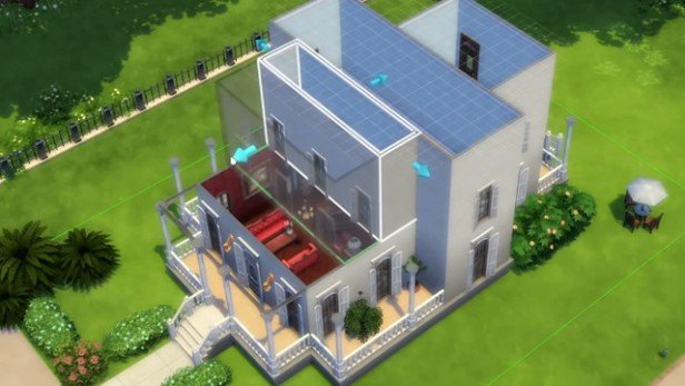 construir en los sims 4