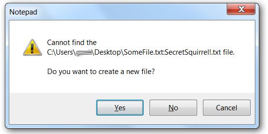 crear nuevo archivo texto oculto