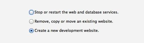 crear nuevo sitio serverpress