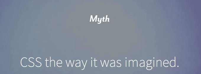 Escribe CSS Para El Futuro Con Myth