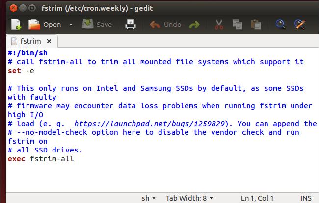 desactivar trim ubuntu 14.04