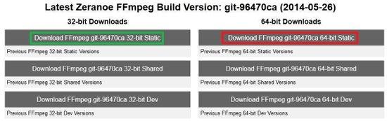 descargar ffmpeg para windows