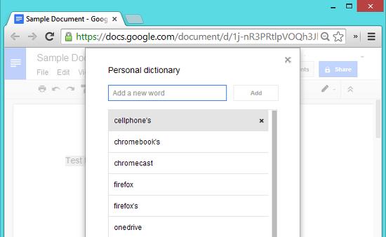 directoriio personal en google docs