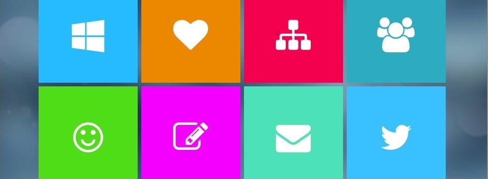 Crear Una Página De Inicio Web Con Estilo Metro