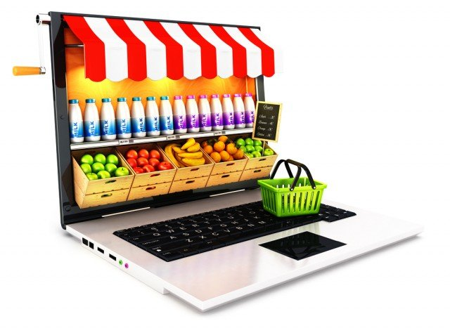 diseño tienda de comercio electronico
