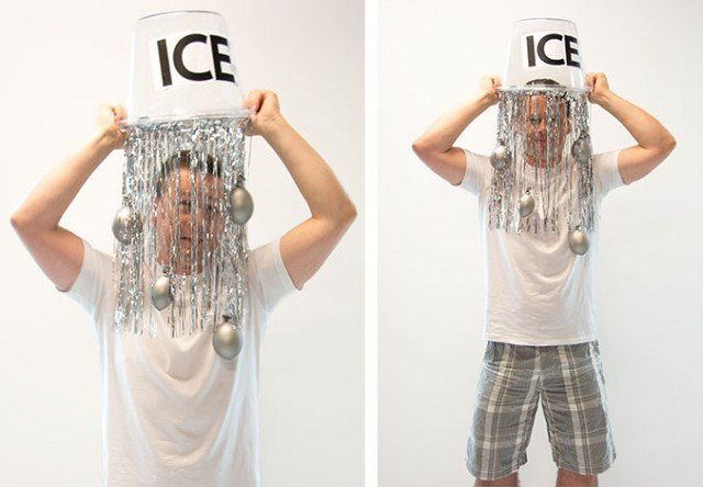 disfraz ice bucket