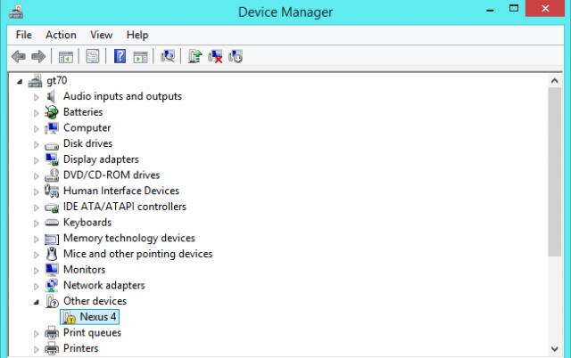 dispositivo desconocido en windows administrador de dispositivos