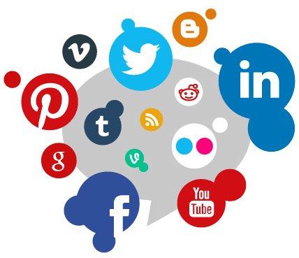 diversidad de redes sociales usar marketing
