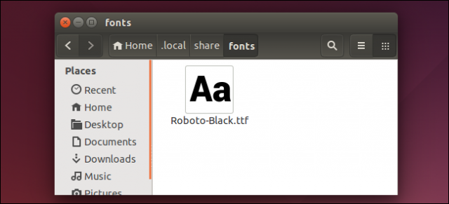 eliminar tipografias instaladas en linux