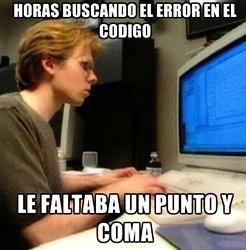 error de programacion