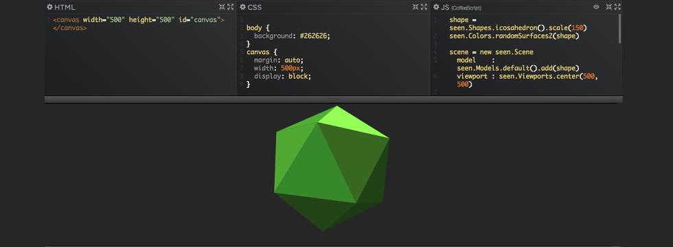 Usar Seen.js Para Crear Escenas 3D En JavaScript