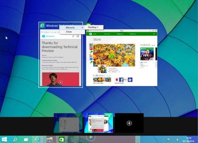 escritorios virtuales en windows 10