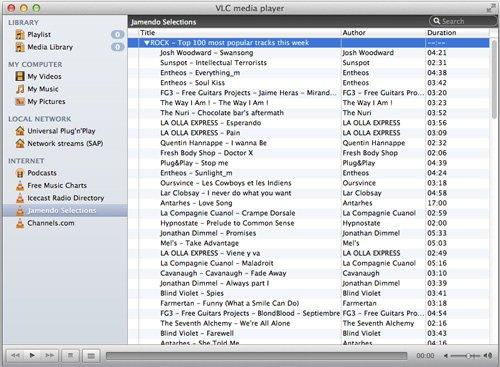 escuchar radio online desde VLC