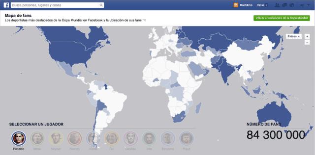 fanpage seguidores copa del mundo facebook