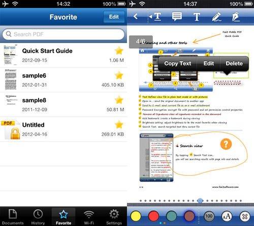 foxit reader para smartphone y tablet
