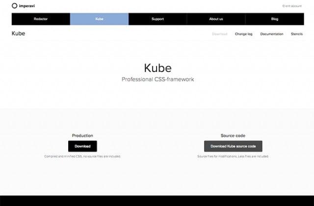framework css kube