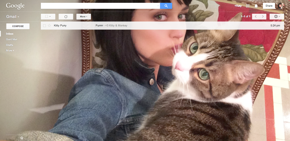 gmail selfie