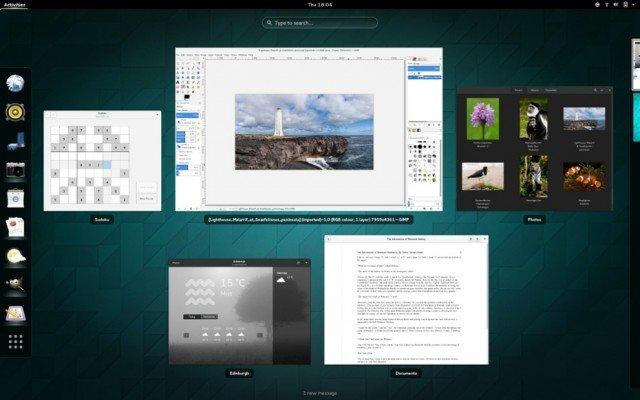 gnome 3x escritorio para linux