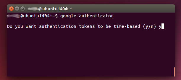 google authenticator en consola linux