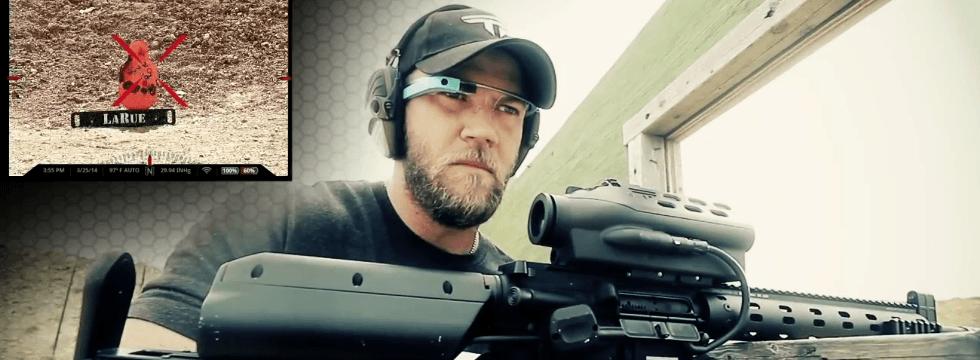 Usando Google Glass Como HUD Para Las Cámaras De Arma