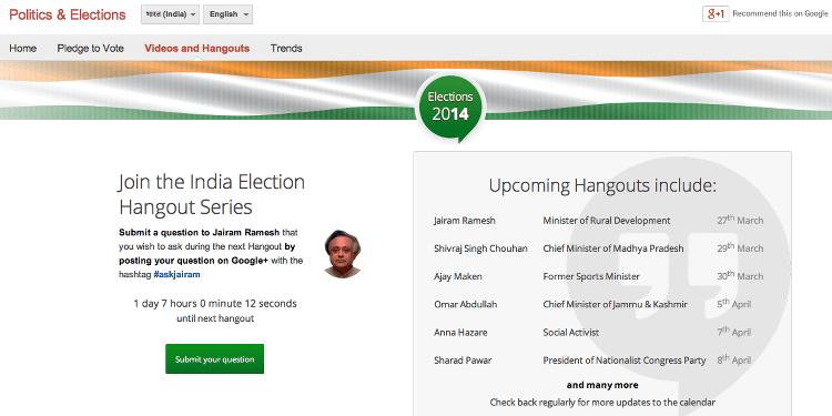 google informacion india