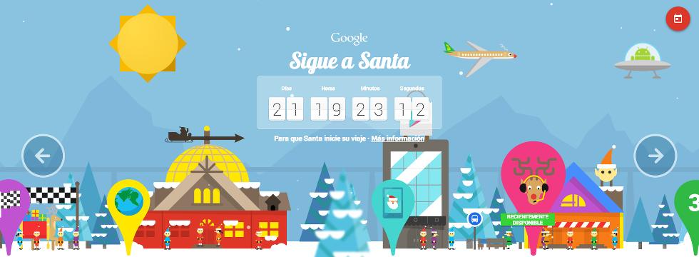 Google Se Llena Del Espíritu De La Navidad