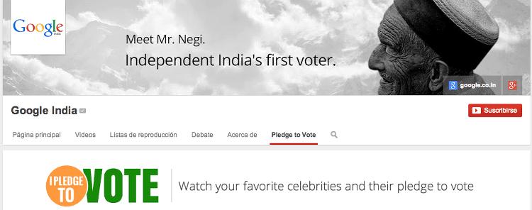 google voto india