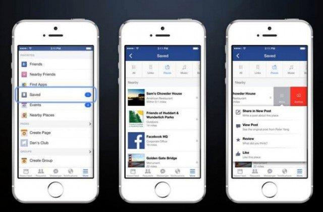 guardar noticias facebook
