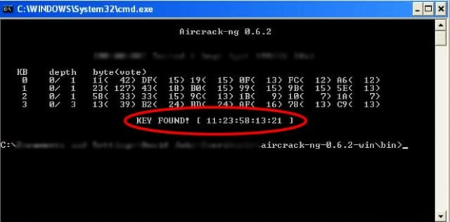 hack wifi aircrack