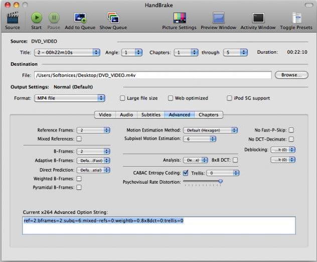 handbrake video converter html5