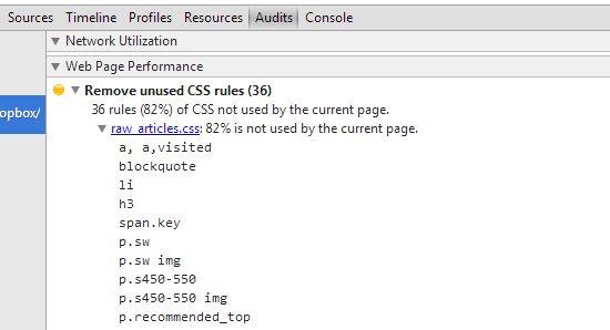 herramienta corregir CSS chrome