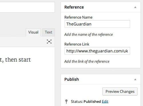 ingresar datos en campos personalizados en wordpress