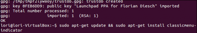 instalando  menu clasico gnome en ubuntu