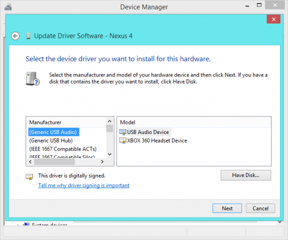 instalar driver dispositivo desconocido en windows