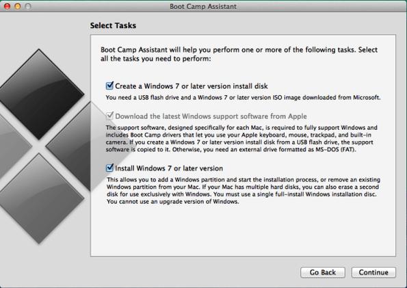 instalar windows en mac con boot camp