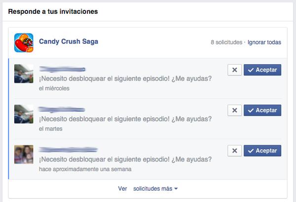 invitaciones de juegos facebook