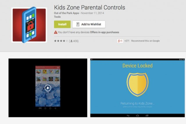 kids aplicacion control parental android