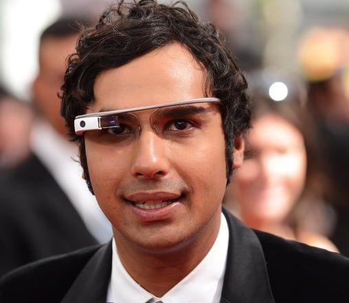 kunal nayyar google glass