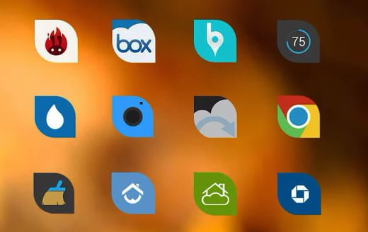 leaf icons Android