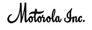 logo original motorola