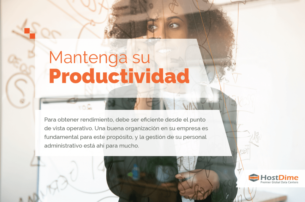 mantenga su productividad