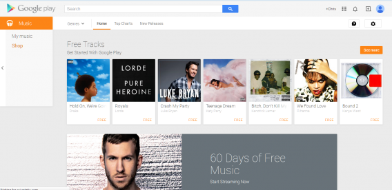 market google play music