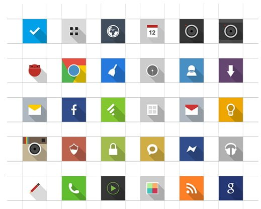 maximal icons Android